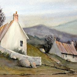 Devonshire Cottage I - Fine Art