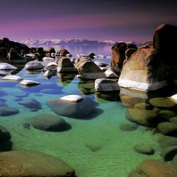 Sand Harbor Morning - Fine Art